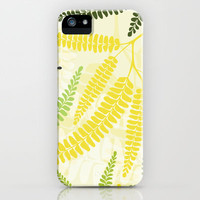 Fern iPhone & iPod Case by Claudia Owen