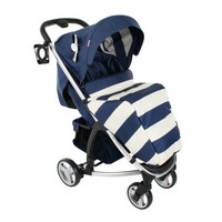 My Babiie Billie Faiers MB99 Pushchair in Blue Stripes Kiddicare.com