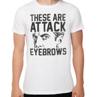 Doctor Who Attack Eyebrows T-Shirt