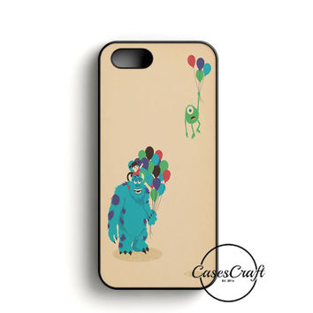 Monster Inc Baloon iPhone 5/5S/SE Case