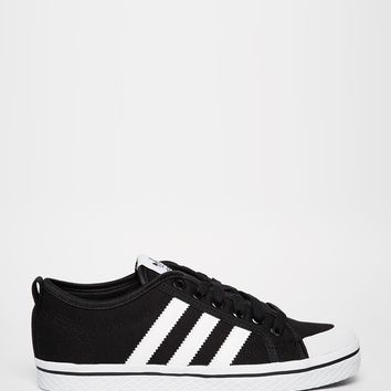 adidas Originals Honey Stripes Black & White Trainers