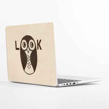 Look Owl Laptop Skin