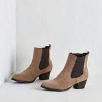Menswear Inspired Espana Escapades Booties