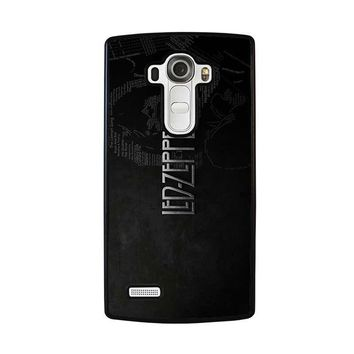LED ZEPPELIN LYRIC LG G4 Case Cover