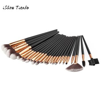24PCS Cosmetic Makeup Brush Brushes Set Foundation Powder Eyeshadow