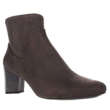 Nine West Falup Ankle Booties, Dark Grey, 11 US