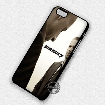 Fast And Furious  Vin Diesel Paul Walker - iPhone 7 6 5 SE Cases & Covers