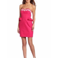 Lilly Pulitzer Maybell Dress In Hot Pink 4 NWT