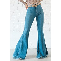 Are You Up To It High Waisted Flares