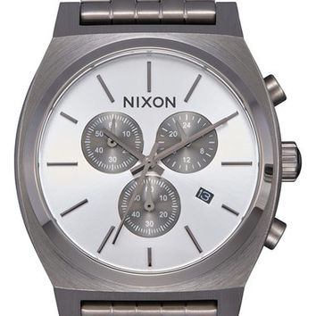 Nixon 'The Time Teller' Chronograph Bracelet Watch, 39mm | Nordstrom