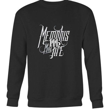 Memphis May Fire Logo Combination Title Long Sweater