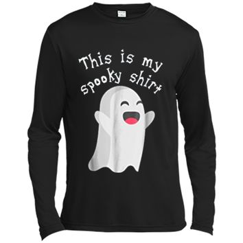 This Is My Spooky  Funny Halloween  Long Sleeve Moisture Absorbing Shirt