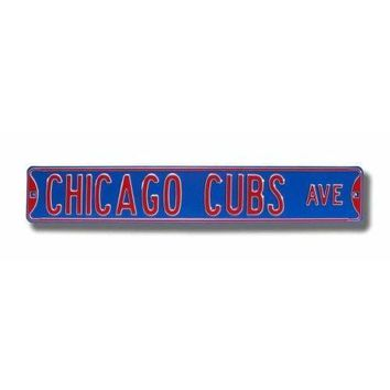 Authentic Street Signs Chicago Cubs Street Sign