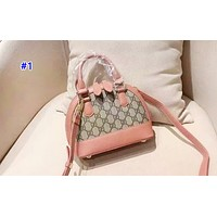 GUCCI fashionable lady print patchwork color shell shoulder bag hot seller of casual shopping bag #1