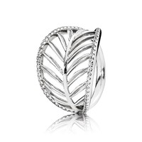 PANDORA Tropical Palm Ring - Size 6