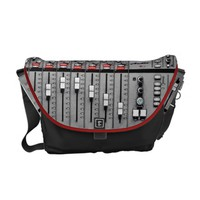 Audio Mixer Messenger Bag