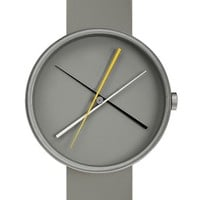Crossover Watch in Stainless Steel by Projects Design