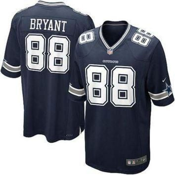 ESBYD9 Youth Nike Dallas Cowboys #88 Dez Bryant Game Navy Blue Team Color NFL Jersey
