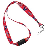 NHL Washington Capitals Lanyard with Breakaway, 3/4""