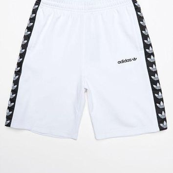 ONETOW adidas TNT Tape White and Black Active Drawstring Shorts at PacSun.com