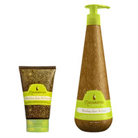 Macadamia Natural Oil Nourishing Leave In Cream at BeautyBay.com