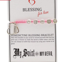 My Saint My Hero Blessing Bracelet For Love