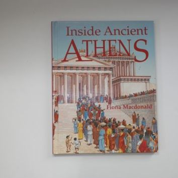 Inside Ancient Athens by Fiona MacDonald (2005, Hardcover)