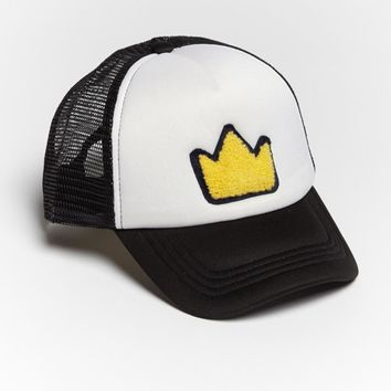Crown Patch Trucker Hat