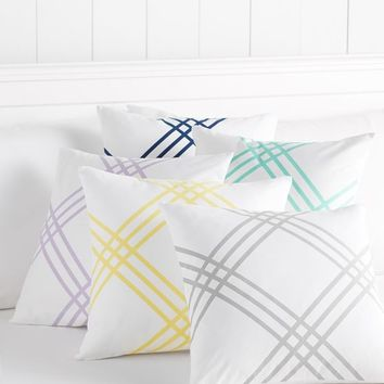 Printed Frame Monogram Pillow Covers
