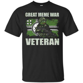 Great Meme War Veteran Kekistanis T-shirt Free Kekistan_Black T-shirt