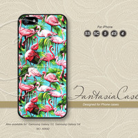 Flamingo, Pink, iPhone 5 case, iPhone 5C Case, iPhone 5S case, Phone cases, iPhone 4 Case, iPhone 4S Case, iPhone case, FC-0642