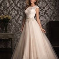 Allure Bridals 9022 Lace Ball Gown Wedding Dress
