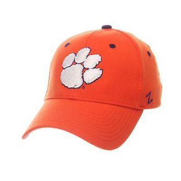 Licensed Clemson Tigers Official NCAA ZH Large Hat Cap by Zephyr 582381 KO_19_1