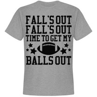 Fall's Out Foot Balls Out: Mom Means Business