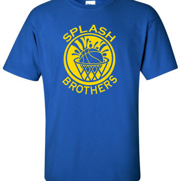 """Splash Brothers"" T-Shirt S-4XL curry thompson golden state basketball warriors"