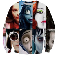 Tim Burton Movie Sweat Shirt