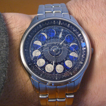 Citizen Astrodea Moon Age watch 2007 Small Edition
