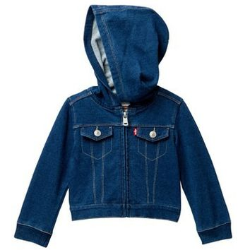 Levi's   French Terry Jacket (Baby Girls)   Nordstrom Rack