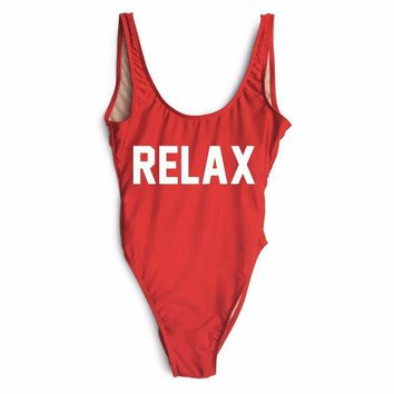RELAX One Piece Swimsuit