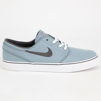 Nike Sb Zoom Stefan Janoski Canvas Mens Shoes Grey  In Sizes