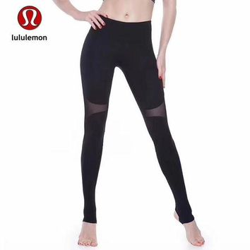 DCCKNQ2 Lululemon Women Fashion Gym Yoga Exercise Fitness Leggings Sweatpants-8