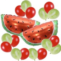 WATERMELON BALLOONS - Fruity Balloons, Fruity Party, Fruity Tutti , Fruit Balloons, Tropica Party Decoration, Summer Birthday Party