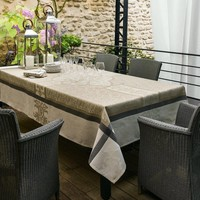 Siena Taupe Table Linens