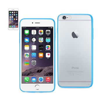 New Clear Back Frame Bumper Case In Navy For iPhone 6 Plus/ 6S Plus