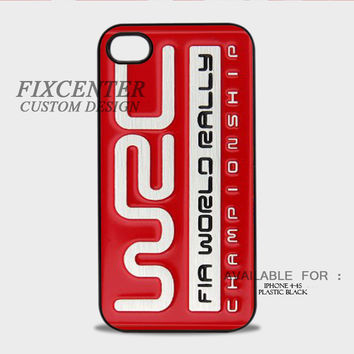 FIA World Rally Championship Red - iPhone 4/4S Case