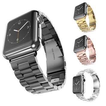 Stainless Steel Watch Band For Apple Watch