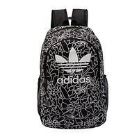 Adidas Fashion Print Sport Travel Bag Bookbag School Shoulder Bag Backpack