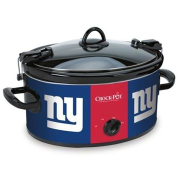 NFL New York Giants CrockPot® Cook amp; Carry™ 6Quart Slow Cooker