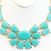 Aqua Ariel Necklace Set