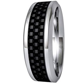 CERTIFIED 8MM Titanium Wedding Band & Promise for Men and Women Hypoallergenic
